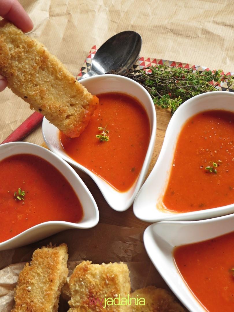 Zupa pomidorowa z czesterkami
